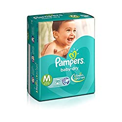 Pampers Medium Size Diapers (20 Count)