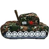 BUCA Military Tank Shape Latest Zipper Pencil Pouch Box/Multipurpose Organizer Case Latest Design For Kids - Green
