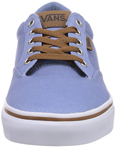 Vans M Winston, Baskets mode homme Bleu (Twill Fdeddnm)