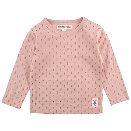 Small Rags Baby-Mädchen Bluse Ella LS Top, Rosa (Misty Rose 02-48), 62