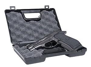 GSG Mallette à armes Small-Frappe plastique rigide-pour les petites et moyennes pistolets-rembourré-verrouillable