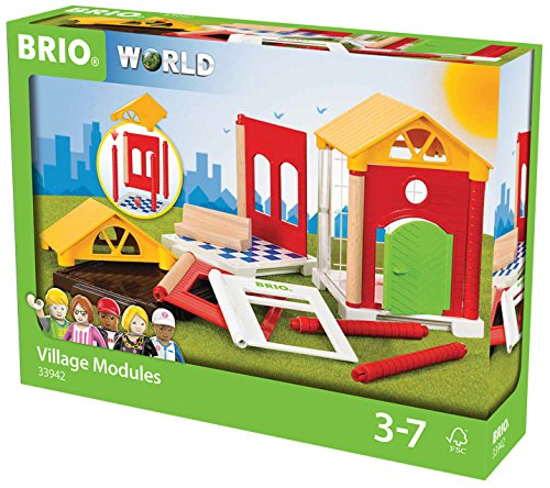 BRIO World 33942 - Village Erweiterungsset, bunt