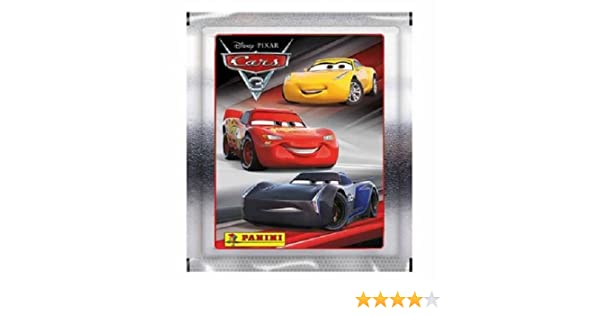 10x panini disney pixar cars 3 collection sticker pack 10 sealed packs amazon co uk toys games