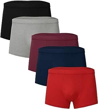 Easong Men's Breathable Underwear 5pc