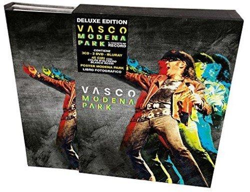 Vasco Modena Park (Cofanetto 3 CD + 2 DVD + Bluray + 45 Giri + Poster + Libro Fotografico)