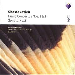 Shostakovich : Piano Concertos Nos 1 & 2, Piano Sonata No.2 - Apex