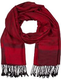 Sakkas Soft Pashmina Feel Paisley Design Schal / Stola