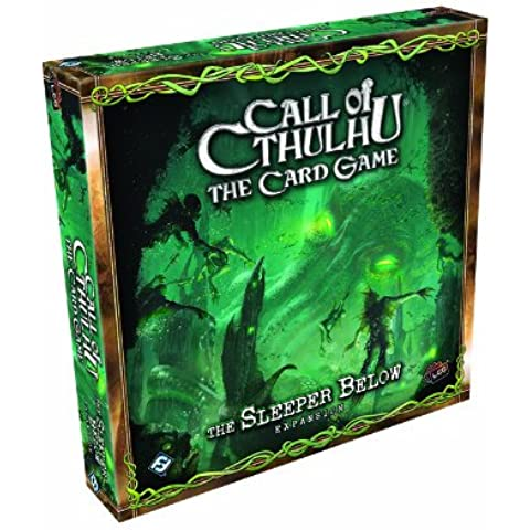 Fantasy Flight Games - Call of Cthulhu, Gioco di carte - Espansione: The Sleeper Below (Non Sleeper)
