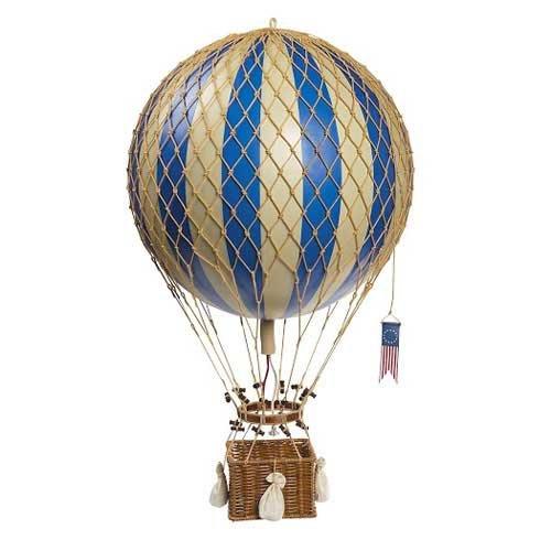 Authentic Models - Dekoballon - Ballon Blau - 32 cm - Ballon-netz