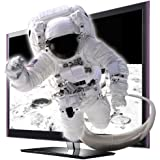 LG 55LW5590 139,7 cm (55 Zoll) Cinema 3D LED-Backlight-Fernseher  (Full-HD, 600 Hz MCI, DVB-T/C, CI+, Smart TV, DLNA) schwarz