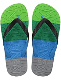 United Colors Of Benetton Men's Multicolor Flip-Flops And House Slippers - 7 UK/India (41 EU)