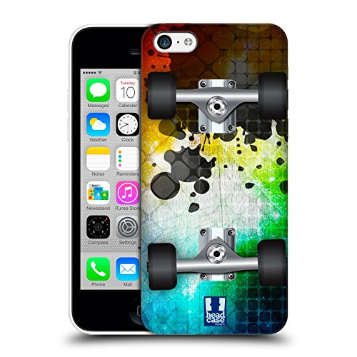 Head Case Designs Mosaic Skateboards Hard Back Case for Apple iPhone 5c