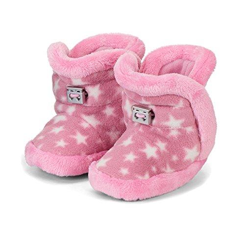 Sterntaler Mädchen Baby-Schuh Stiefel, Pink (Perlrosa), 19/20 EU - Stiefel Schuhe Kind Mädchen