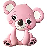 Leoie Baby Cute Cartoon Animal Teether Toys Vivid Color Educational Toy Gifts For Baby Koala Pink