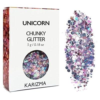 Unicorn Chunky Glitter ? COSMETIC GLITTER ? Festival Glitter Sparkle Face Body Hair Nails