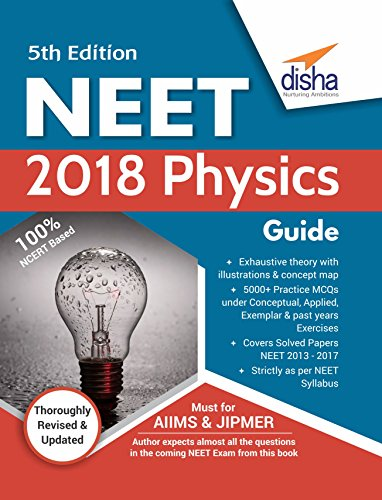 neet 2018 physics guide 5th edition ebook disha experts amazon