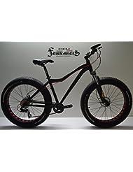 Vélo Fat Bike Amortisseur en Aluminium 16,7kg.. freins hydrauliques noire Ross