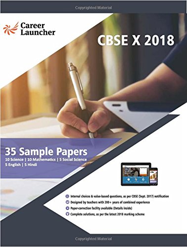 35 Sample Papers for Class 10 CBSE 2018 - All Subjects