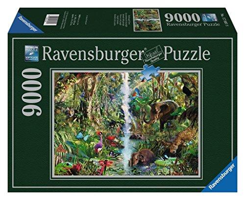 Ravensburger 17801 - Dschungel Tiere - 9000 Teile Puzzle - Aufgeteilt Platten Kinder Für