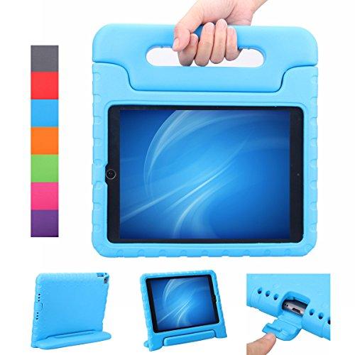 NEWSTYLE Apple iPad Air 2 / iPad 6 Funda para niños EVA antichoque ligera destinado a prueba de golpes Protección Funda Tapa - Azul