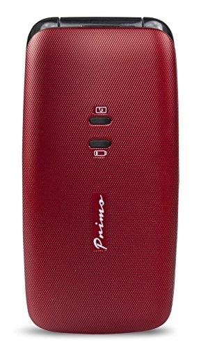 Doro PRIMO_401 Telefono cellulare, tasti grandi, Rosso
