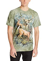 The Mountain Unisexe Adulte Patchwork De Cerf T Shirt
