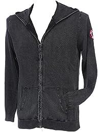 Rivaldi black - Genevu black veste fz - Vestes pulls zippés