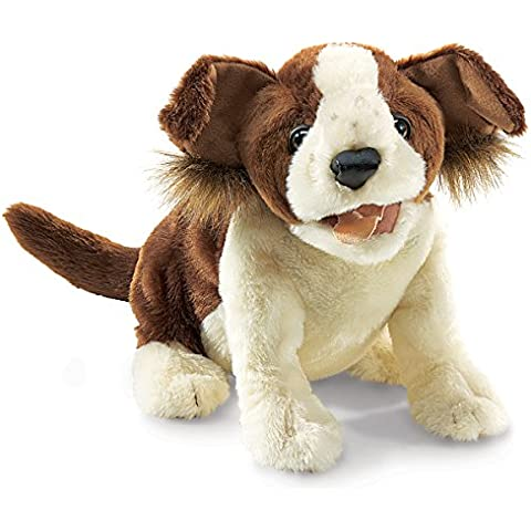 Folkmanis–Marioneta de mano de Lucky Dog