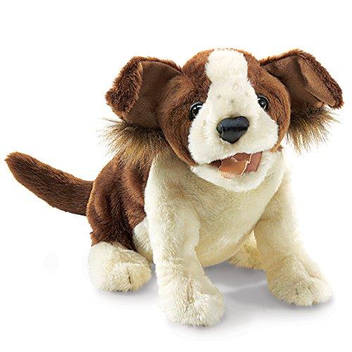 Folkmanis-Marioneta de Mano de Lucky Dog