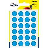 Avery España PSA15B - Pack de 168 gomets, color azul