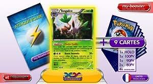 TENGALICE holo 7/106 140PV XY 2 Etincelles (Flashfire) - Booster optimisé ATTAQUE ECLAIR de 10 cartes pokemon Francaises