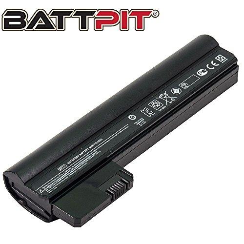Battpit Laptop Akku für HP Compaq 03TY 06TY 607762-001 607763-001 HSTNN-E04C Mini 110-3000 Series 110-3014tu Compaq Mini CQ10-400 CQ10-500 Series - [3 Zellen/2200mAh/24Wh]