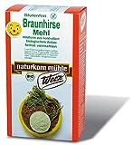 Werz Braunhirse gemahlen glutenfrei, 1er Pack (1 x 500 g Packung) - Bio