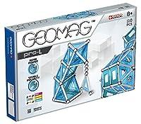 Novit della Geomag, scopri il mondo Pro-L, stato pensato per i ragazzi che voglio costruire strutture pi complesse.Nella scatola potri trovare 110 pezzi per esprimere al meglio la tua creativit.