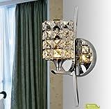 VanMe Moderne Kristall Wandleuchte Wandleuchte Bed Zimmer Treppen Gang Kronleuchter An Der Wand Leuchte Home Decor Leuchte 40 * 12Cm