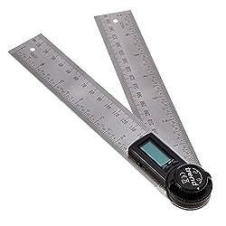 Trend DAR/200 200mm Digital Angle Ruler, Internal and External Angle Finder