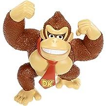 Mario Bros - World of Nintendo Donkey Kong figura, 6 cm (Jakks Pacific JAKKNINDONKEYKONG)