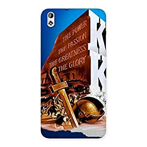 Stylish King Power Back Case Cover for HTC Desire 816g