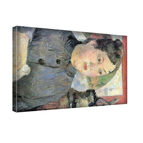 gauguin-madame-kohler-canvas-wall-art-trabajo-estirado-y-enmarcado-modern-art-deco-paintings-tamao-2