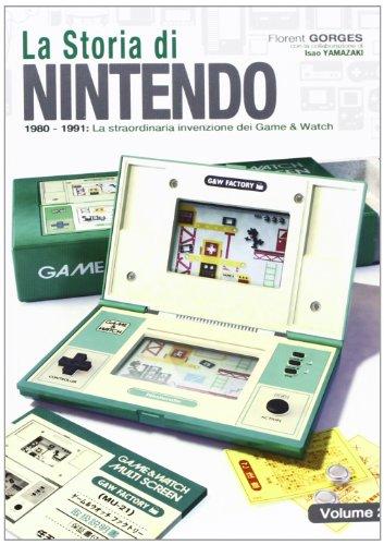 La storia di Nintendo 1980-1981. La straordinaria invenzione di game&watch: 2