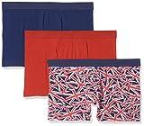 New Look Herren Badehose 3 Pack Union Jack, Mehrfarbig (Multi-Coloured), Small (Herstellergröße: 51)