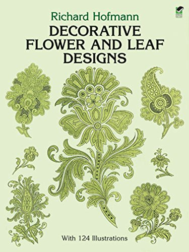 Decorative Flower and Leaf Designs (Dover Design Library)