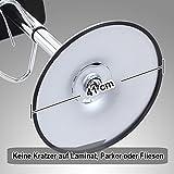 Songmics 2 x Barhocker mit Armlehnen Lehne Belastbar bis 200 kg schwarz LJB93B -