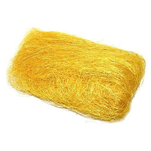 easter-craft-decorative-grass-easter-bonnet-decoration-4-colours-yellow