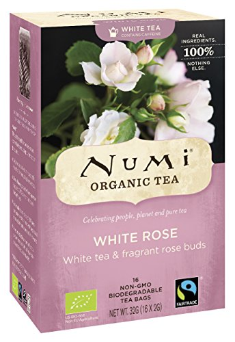 White Rose, BIO - Numi Tea