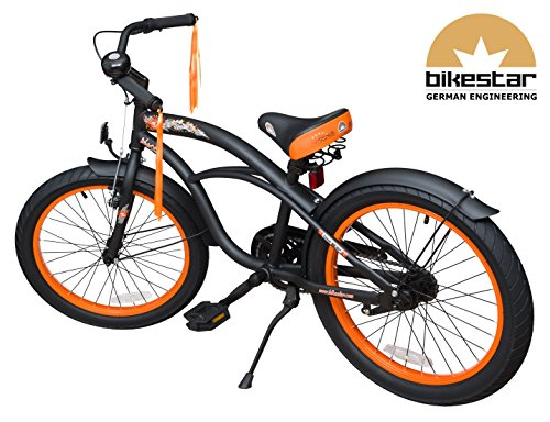 bikestar premium design kinderfahrrad f r coole kids ab 6. Black Bedroom Furniture Sets. Home Design Ideas