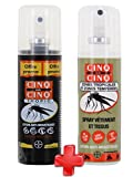 Cinq sur Cinq - Kit Haute protection contre les Moustiques Spray Tropic 100 ml + Spray Vètement 100 ml