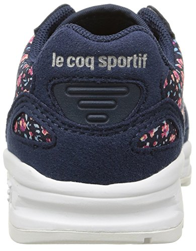Le Coq Sportif Lcs R900 Inf Flowers Baby Mädchen Lauflernschuhe Blau - Bleu (Dress Blue)