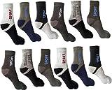 #9: Jedinz Men & Women Ankle Length Socks (Pack of 12)