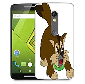 Snoogg cat Designer Protective Back Case Cover For Motorola Moto X Play